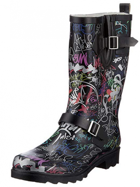 Beck Damen Gummistiefel 515 (Graffiti 02)