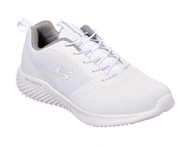 Skechers Bounder Herren Sneaker 52504 (Weiß-WHT)