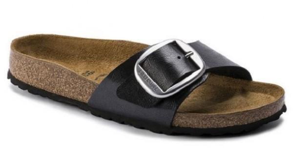 Birkenstock Madrid Big Buckle Damen Schuhe normal 1015314 (Schwarz)