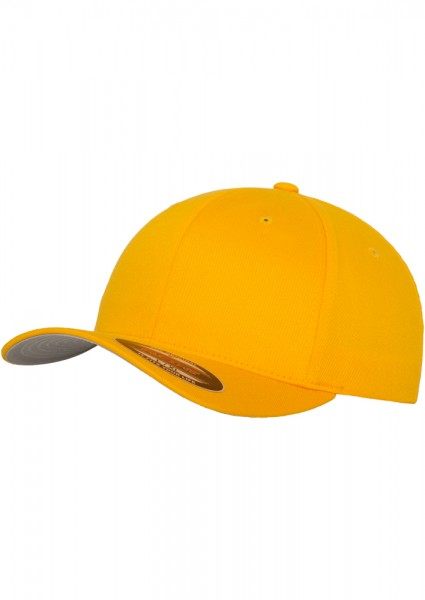 Flexfit Wooly Combed Baseball Cap (Gold-00109)
