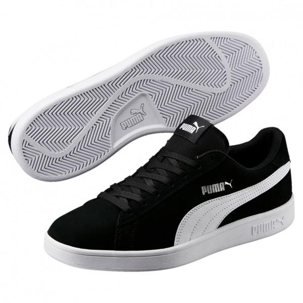 Puma Smash v2 Herren Sneaker 364989 (black 01)