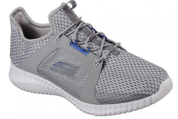 Skechers Men Elite Flex Sports Footwear 52640 BKW (Black White)