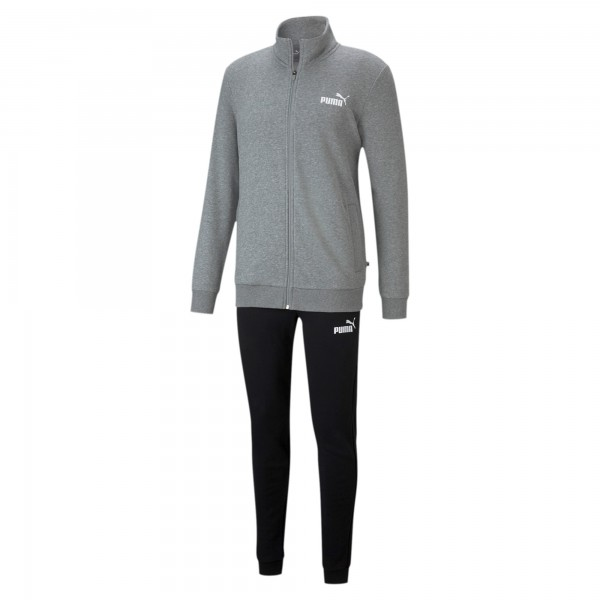 Puma Clean Sweat TR Herren Trainingsanzug 585840 (Grau 03)