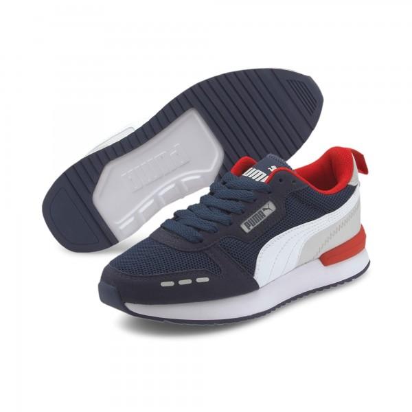 Puma R78 Jr Kinder Sneaker 373616 (Blau 10)