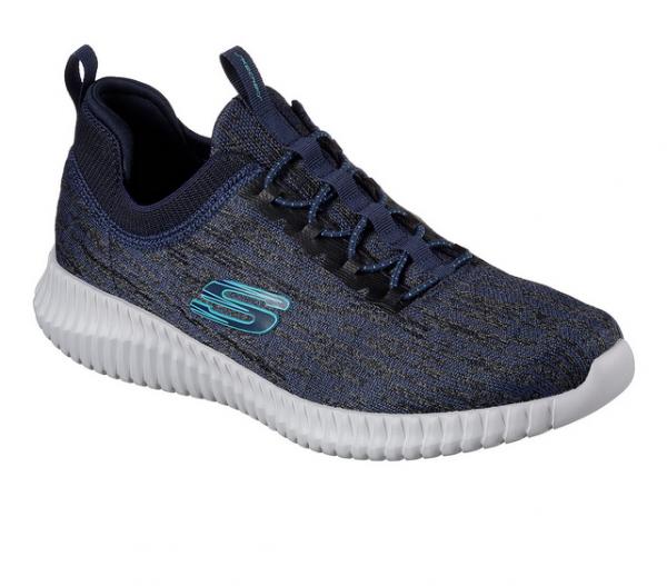 Skechers Elite Flex - Hartnell Herren Sneaker 52642 (Blau - NVBL)