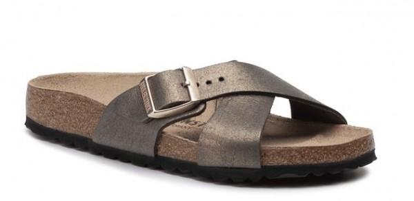 Birkenstock Siena VL Damen Sandale normal 1014380 (Stone Gold)