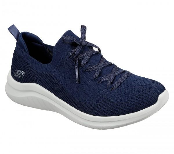 Skechers Ultra Flex 2.0 - Flash Illusion Damen Sneaker 13356 (Blau-NVY)