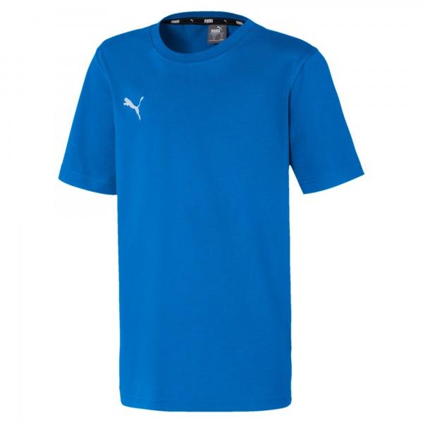 Puma TeamGOAL 23 Casuals Tee Jr Kinder T-Shirt 656709 (Blau 02)