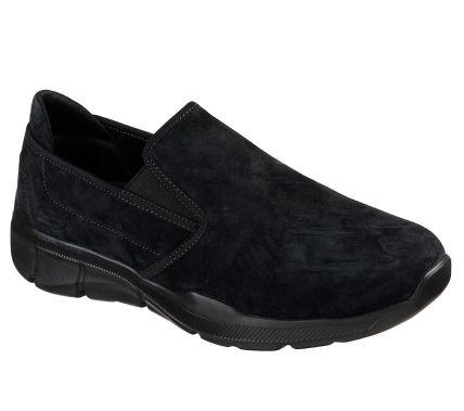 Skechers Relaxed Fit: Equalizer 3.0 - Substic Herren Sneaker 52938 (Schwarz-BBK)