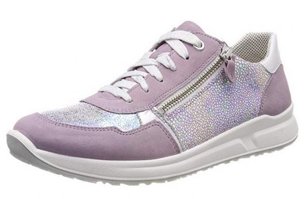 Superfit Merida Hs Mädchen Sneaker (Lila/Silber 90)