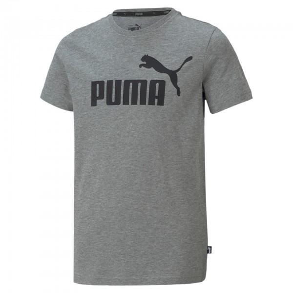 Puma ESS LOGO TEE B Kinder T-Shirt 586960 (Grau 03)
