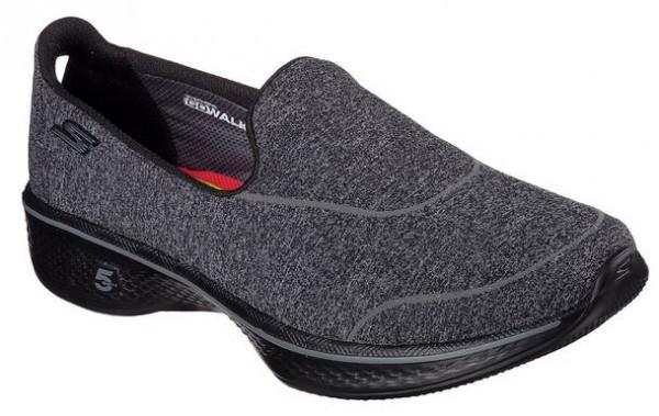 Skechers Gowalk4 - Super Sock 4 Damen Sneaker 14161(Schwarz-BBK)