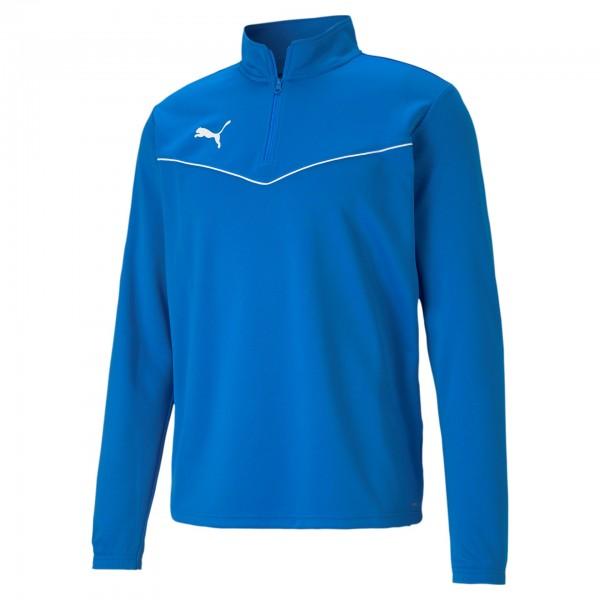 Puma TeamRise 1/4 Zip Top Herren Sweatshirt 657394 (Blau 02)