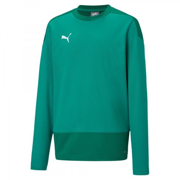 Puma TeamGOAL 23 Training Jr Kinder Sweatshirt 656568 (Grün 05)