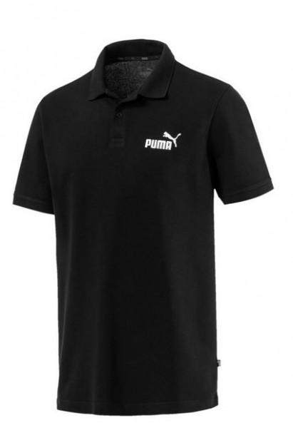 PUMA ESS PIQUE POLO Shirt Herren (schwarz 01)