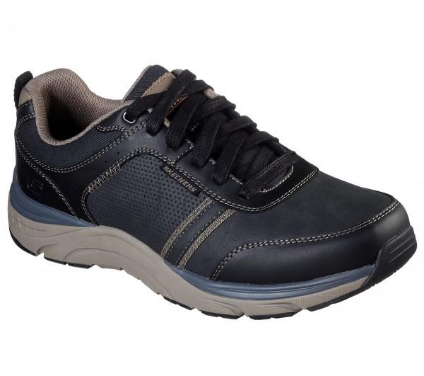 Skechers Relaxed Fit: Sentinal - Lunder Herren Sneaker 66293 (Schwarz-BLK)