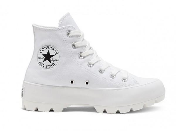 Converse Chuck Taylor All Star Lugged HI Damen Sneaker 565902C (Weiß)