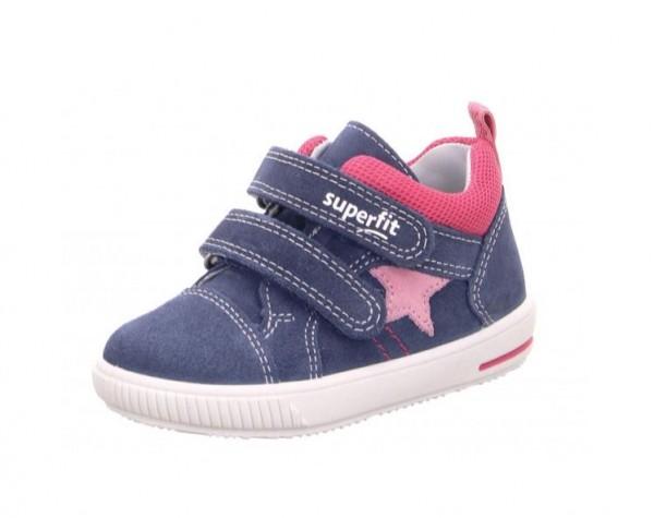 Superfit Moppy Kinder Sneaker 6-09352 (blau/rosa 81)