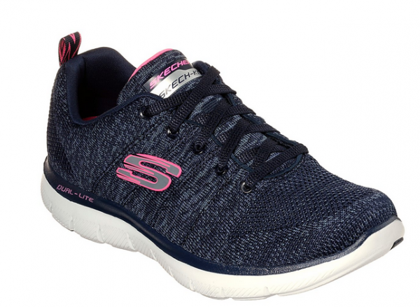 Skechers Flex Appeal 2.0 High Energy Damen Sneaker (Blau-NVY)