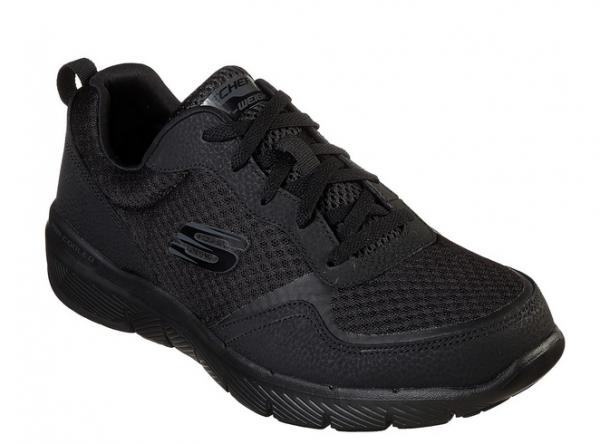 Skechers Flex Advantage 3.0 Herren Sneaker 52954 (Schwarz-BBK)