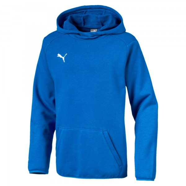 Puma LIGA Casuals Jr Kinder Hoody 655636 (Blau 02)