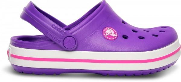 Crocs Crocband Kinder (Neon Purple/Neon Magenta)