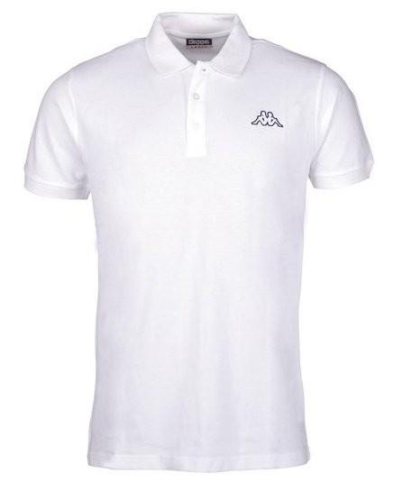 Kappa Peleot Herren Poloshirt 303173 (Weiß 001)