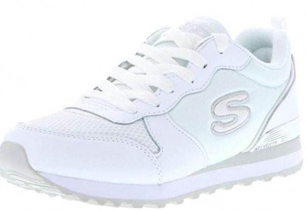 Skechers OG 85 Goldn Gurl Damen Sneaker 111(Weiß-WSL)