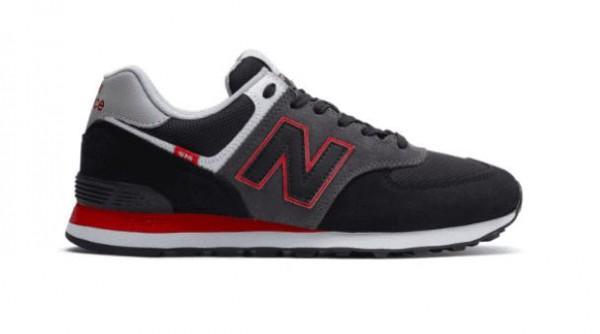 New Balance Herren Sneaker ML574SM2 (Schwarz)