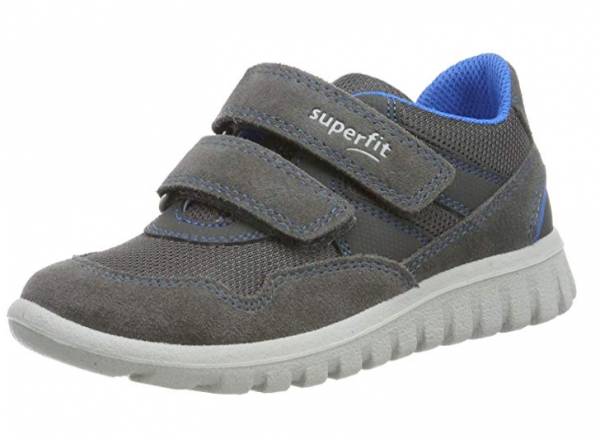 Superfit Sport7 Mini Kinder Sneaker (Grau/Blau 20)
