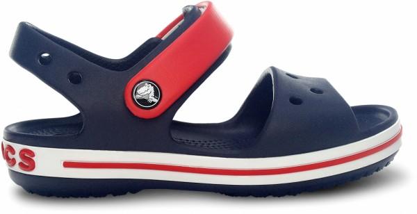Crocs Crocband Sandal Kinder Sandale (Navy/Red)