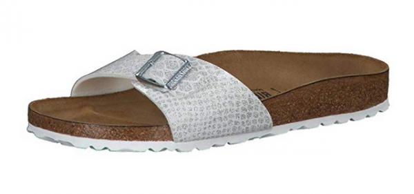 Birkenstock Madrid Damen Schuhe schmal 1009045 (Weiß)