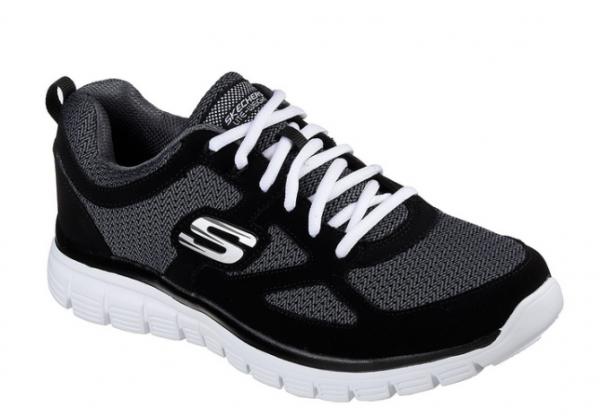 Skechers Burns - Agoura Herren Sneaker 52635 (Schwarz-BKW)