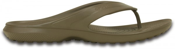 Crocs Classic Flip Zehentrenner (Walnut)