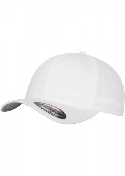 Flexfit Wooly Combed Baseball Cap (White 00220)