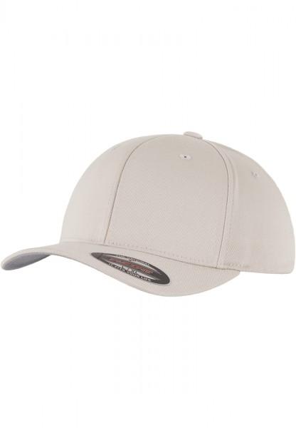 Flexfit Wooly Combed Baseball Cap (Stone 00372)
