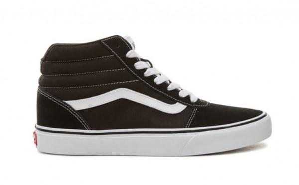 Vans Ward HI Herren Sneaker VN0A36ENC4R (Schwarz)