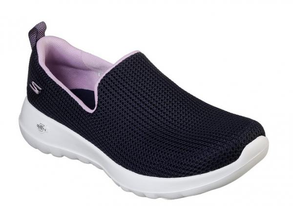 Skechers GOwalk Joy - Centerpiece Damen Sneaker 15637 (Blau-NVLV)