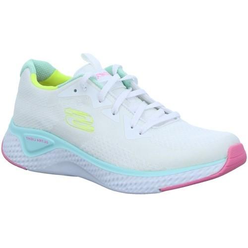 Skechers Solar Fuse - Brisk Escape Damen Sneaker 13328 (Weiß WMLT)