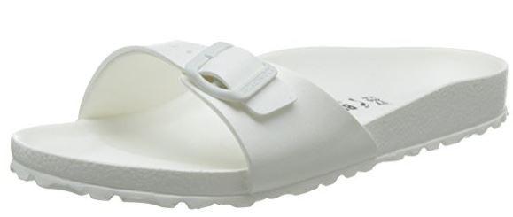 Birkenstock Madrid EVA schmal Damen Pantolette 128183 (Weiß)