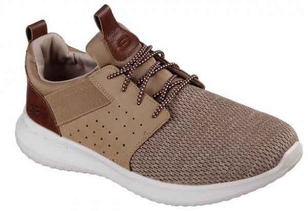 Skechers Delson-Camben Herren Sneaker 65474 (Braun-LTBR)