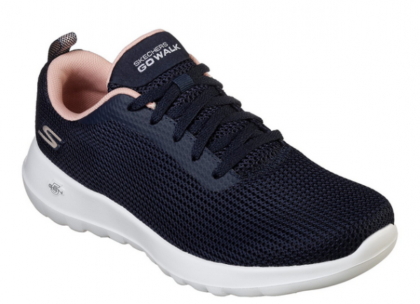 Skechers GoWalk Joy - Upturn Damen Sneaker 15641 (Blau-NVPK)