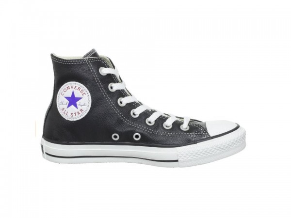 Converse Chucks Taylor All Star HI Leder Sneaker 132170C (schwarz)