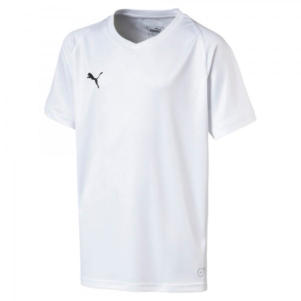 Puma LIGA Core Jr Kinder Shirt 703542 (Weiß 04)