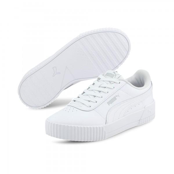 Puma Carina L Jr Kinder Sneaker 370677 (Weiß 19)