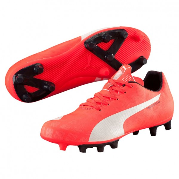 Puma evoSPEED 5.4 FG Jr (lava-white 01)