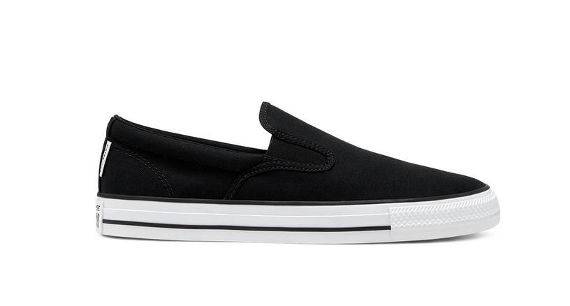 Converse CTAS Double Gore Slipper Sneaker 167941C| Schwarz
