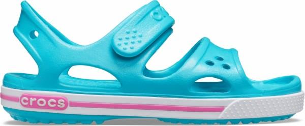 Crocs Crocband II Sandal PS Kinder Sandale (Digital Aqua)