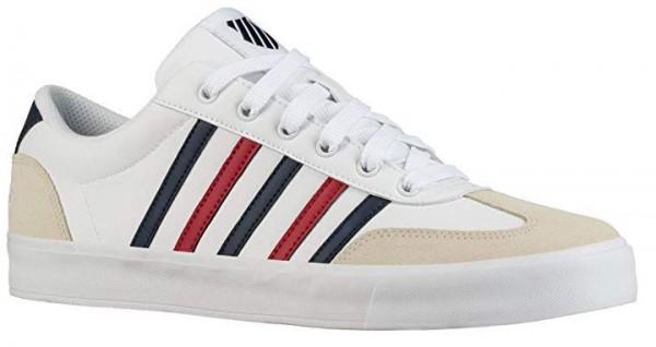 K-Swiss Addison Vulc LTR Herren Sneaker (weiss 134)
