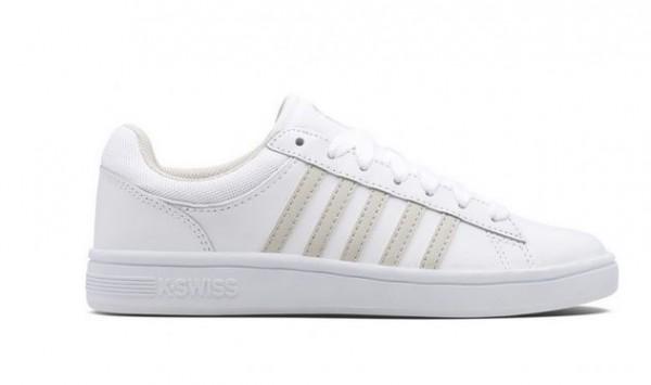 K-Swiss Court Winston Damen Sneaker 96154 (Weiß 160)
